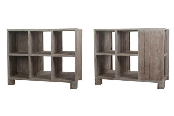 Display hout 78x118x91cm naturel 1