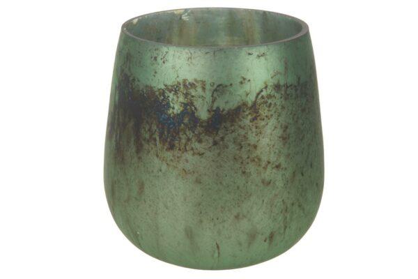 Theelichthouder glas antiek 1