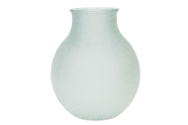 Bolle vaas frosted glas 1