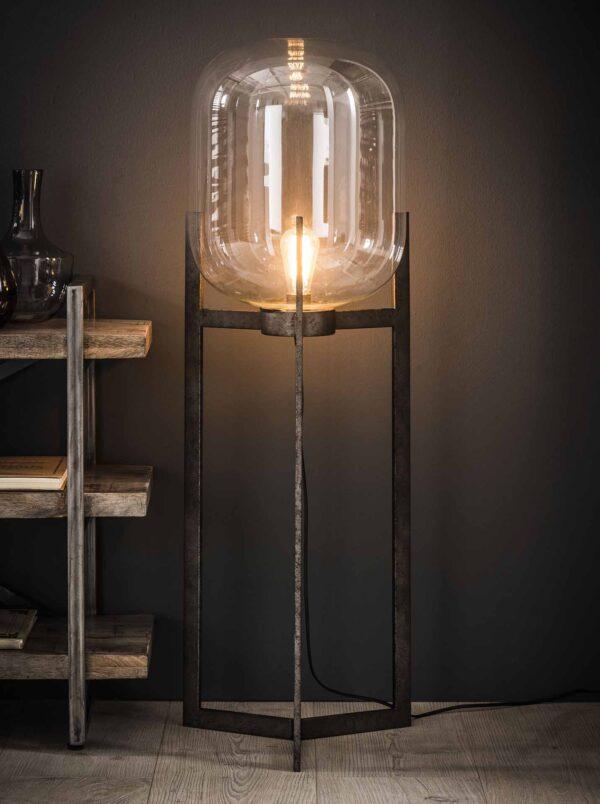 Vloerlamp glas support 1