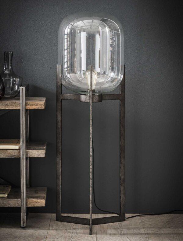 Vloerlamp glas support 2