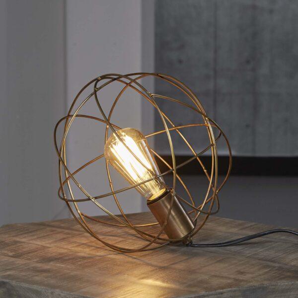 Tafellamp bol draadstaal 1