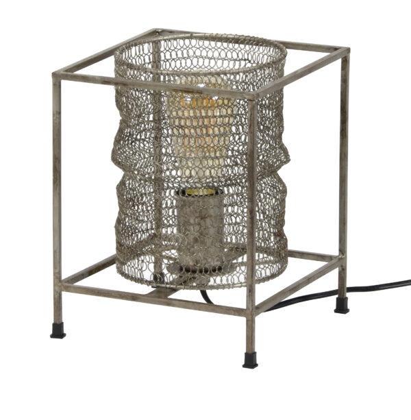 Tafellamp vierkant mesh 5