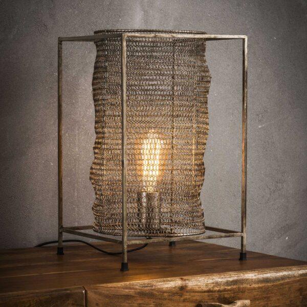 Tafellamp rechthoek mesh 1