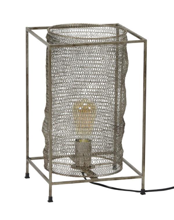 Tafellamp rechthoek mesh 5