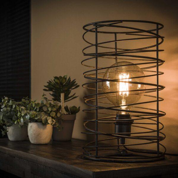 Tafellamp spiraal 22 cilinder 1