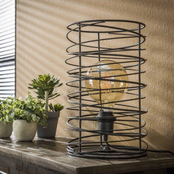 Tafellamp spiraal 22 cilinder 2
