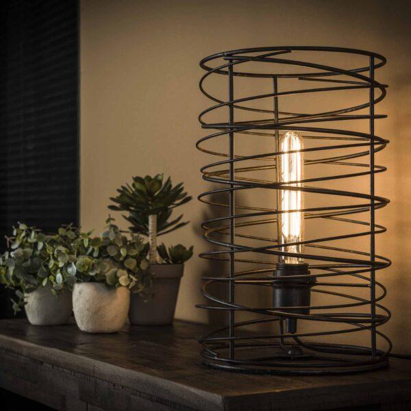 Tafellamp spiraal 22 cilinder 3