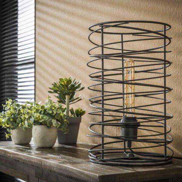 Tafellamp spiraal 22 cilinder 4