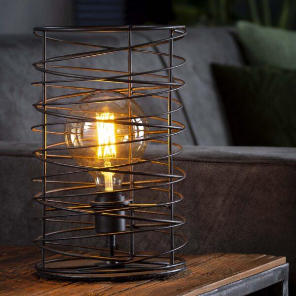 Tafellamp spiraal 22 cilinder 7