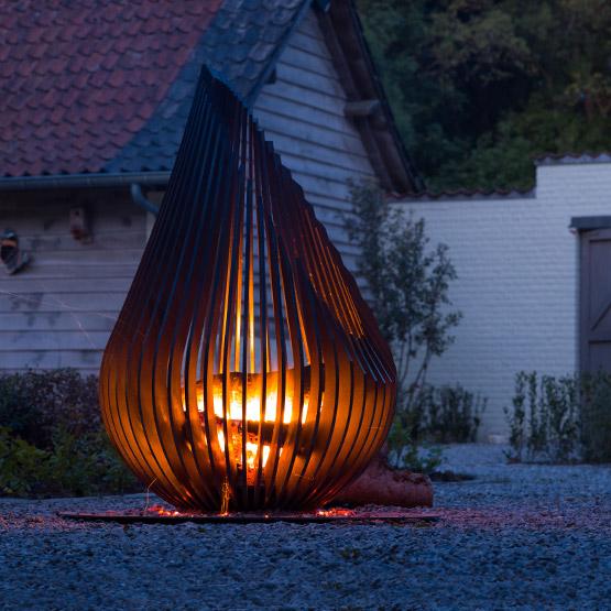 Glowbus 'Dewdrop' Vuurkorf 1