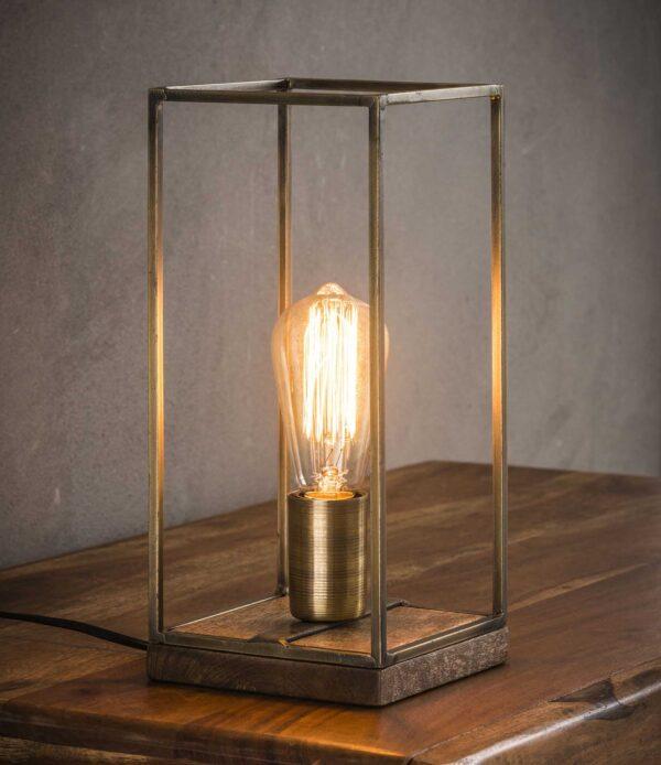 Tafellamp rechthoekig staf 1