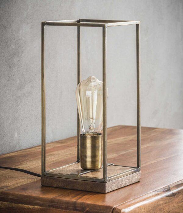 Tafellamp rechthoekig staf 2