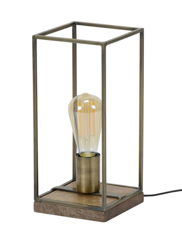 Tafellamp rechthoekig staf 3