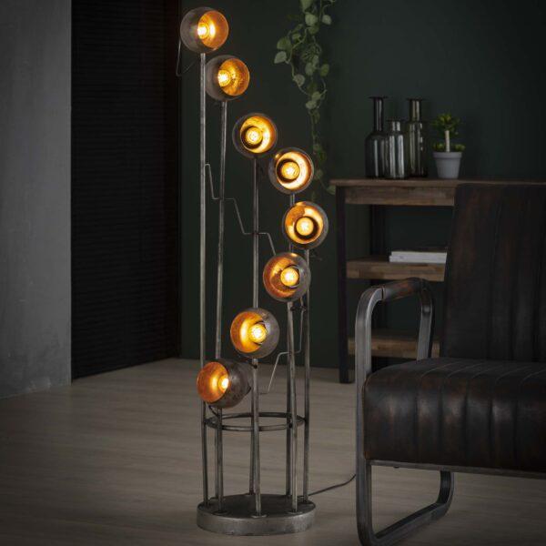 Vloerlamp 8L spiralo vintage 1
