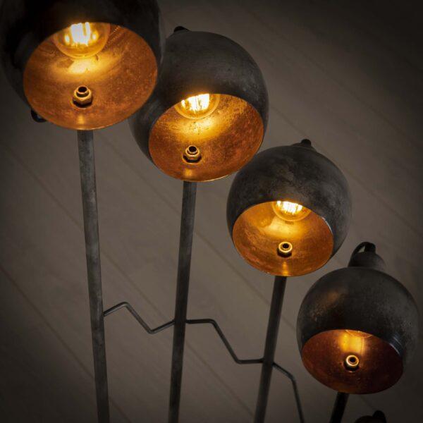 Vloerlamp 8L spiralo vintage 3