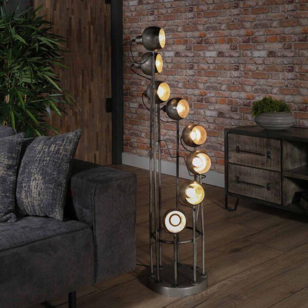 Vloerlamp 8L spiralo vintage 5