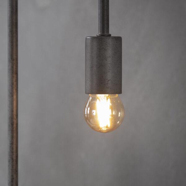 Lichtbron LED filament bol 4,5cm 2