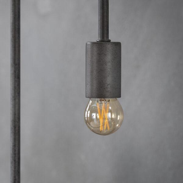 Lichtbron LED filament bol 4,5cm 3
