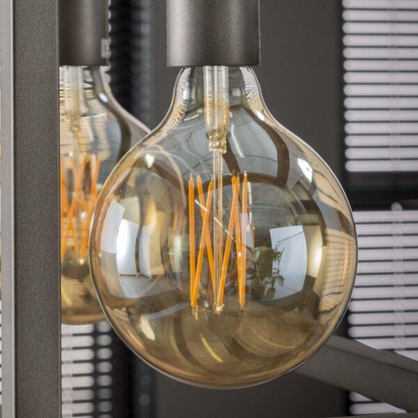 Lichtbron LED filament bol 12,5cm 2