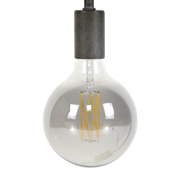 Lichtbron LED retro filament bol 9,5cm 5