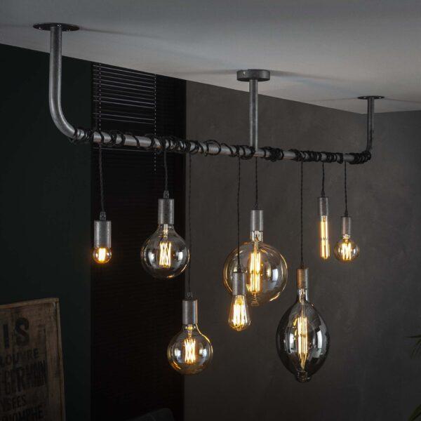 Lichtbron LED retro filament bol 9,5cm 6