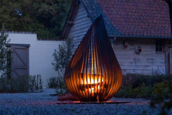 Glowbus 'Dewdrop' Vuurkorf 16