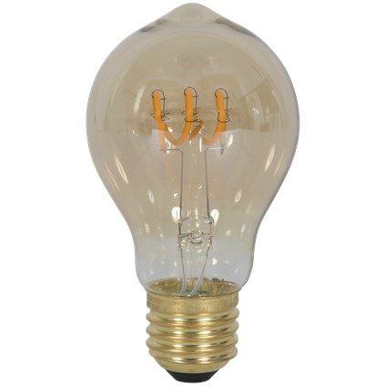 Lichtbron LED retro filament bol 6cm 2