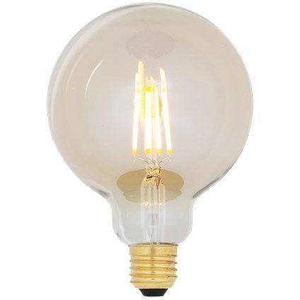 Lichtbron LED retro filament bol 9,5cm 1
