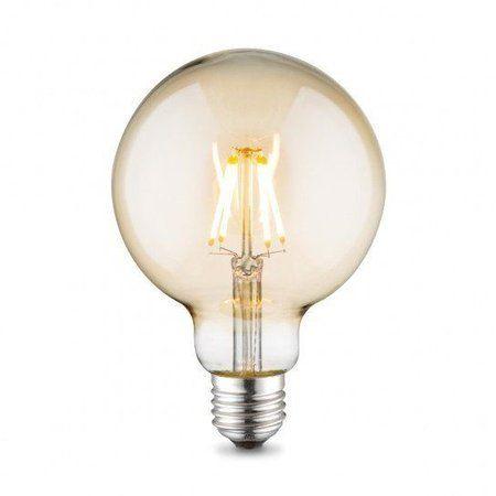 Lichtbron LED retro filament bol 9,5cm 2