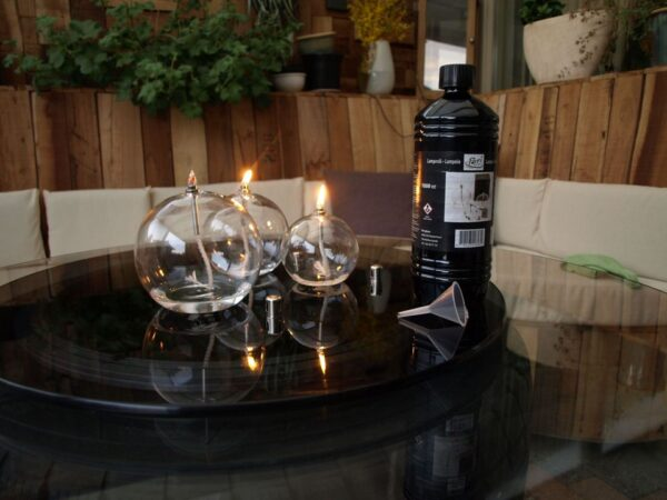 Peri glass oliebol 12,5cm 3